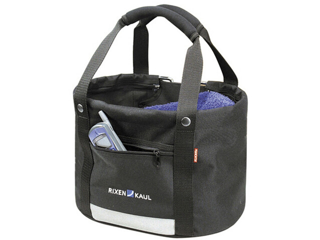 KlickFix Shopper Comfort Bike Bag Mini black